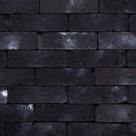 Διακοσμητικό Τουβλάκι Μαύρο - Τεχνητό Τούβλο - GRECOSTONE 9193b