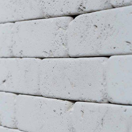 Λευκό Διακοσμητικό Τουβλάκι - Τεχνητό Τούβλο - GRECOSTONE 9198b