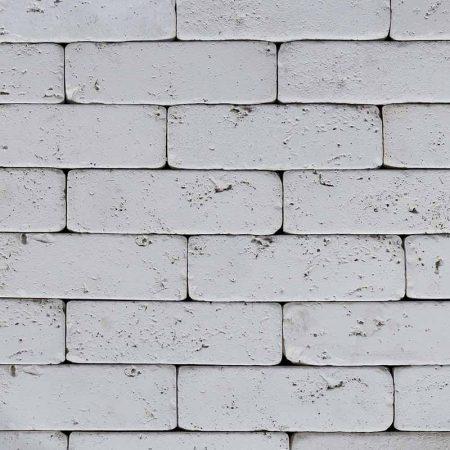 Λευκό Διακοσμητικό Τουβλάκι - Τεχνητό Τούβλο - GRECOSTONE 9199