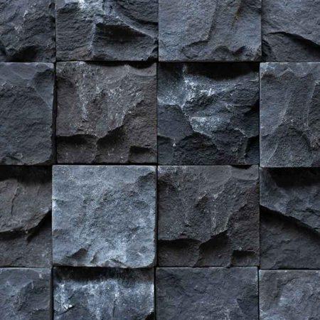 Κύβος Μαύρος - Τεχνητή Πέτρα για Επένδυση Εξωτερικού Τοίχου GRECOSTONE 9234