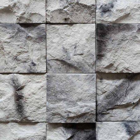 Κύβος Λευκός - Τεχνητή Πέτρα - Πλακάκια Τύπου Πέτρας - GRECOSTONE 9239