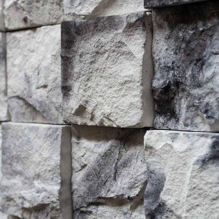 Κύβος Λευκός - Τεχνητή Πέτρα - Πλακάκια Τύπου Πέτρας - GRECOSTONE 9241b