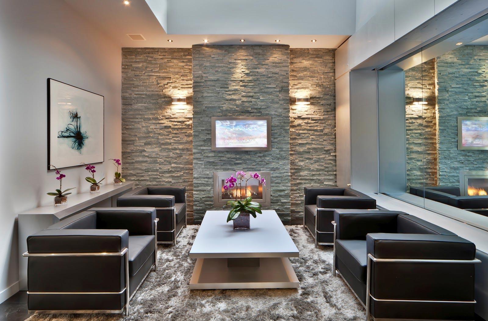 Υπηρεσίες GRECOSTONE - Τεχνητή Διακόσμηση Τοίχου με Ξύλο & Πέτρα