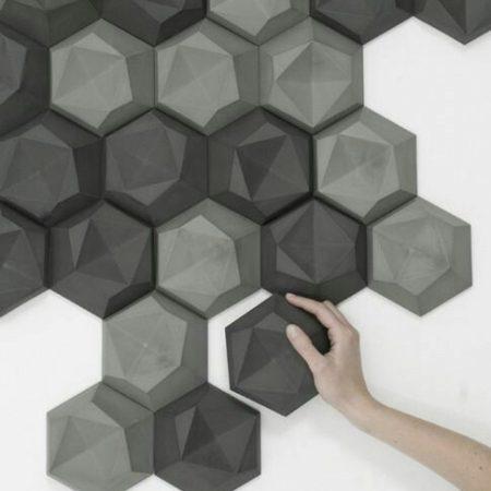 3D ΠΑΝΕΛ ΤΟΙΧΟΥ ΑΠΟ ΓΥΨΟ ELEMENTS GS-7001